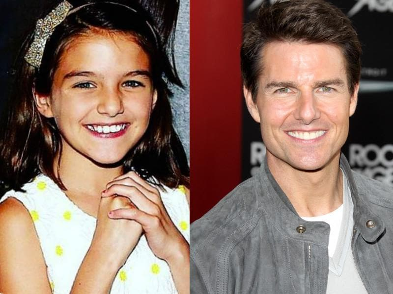Tom Cruise and Katie Holmes' already famous daughter Suri inherited the very best of both parents' looks. She has his smile, his eyes, his nose and the jawline of her mother.  (Instragram/Shutterstock)