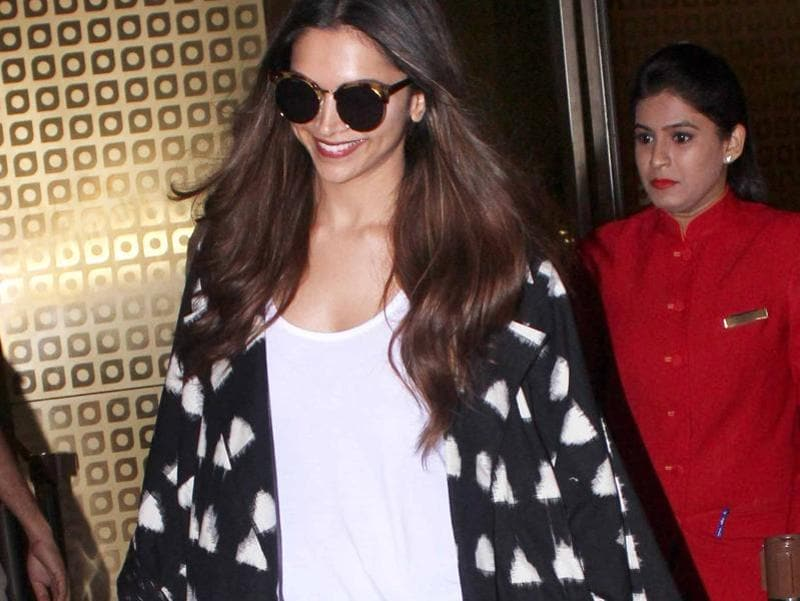 Deepika recently returned to India after finishing some work in Los Angeles, USA. (Photo: Yogen Shah)