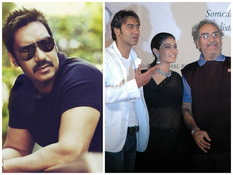 Actor Ajay Devgn is a successful actor, but his father did not face the camera . His father, Veeru Devgn is a well known action director.