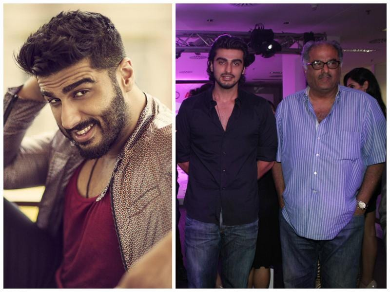 Filmmaker Boney Kapoor produced big ticket films such as Mr. India, Loafer, No Entry and Wanted, but his son became a successful actor with Ishaqzaade, 2 States and Gunday.