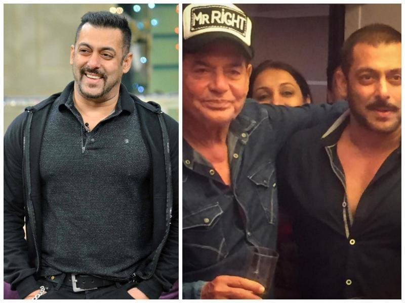 Salim Khan is a veteran screenwriter but his son Salman Khan became an actor. He is one of India's biggest superstars and a film starring him is bound to be a money spinner.