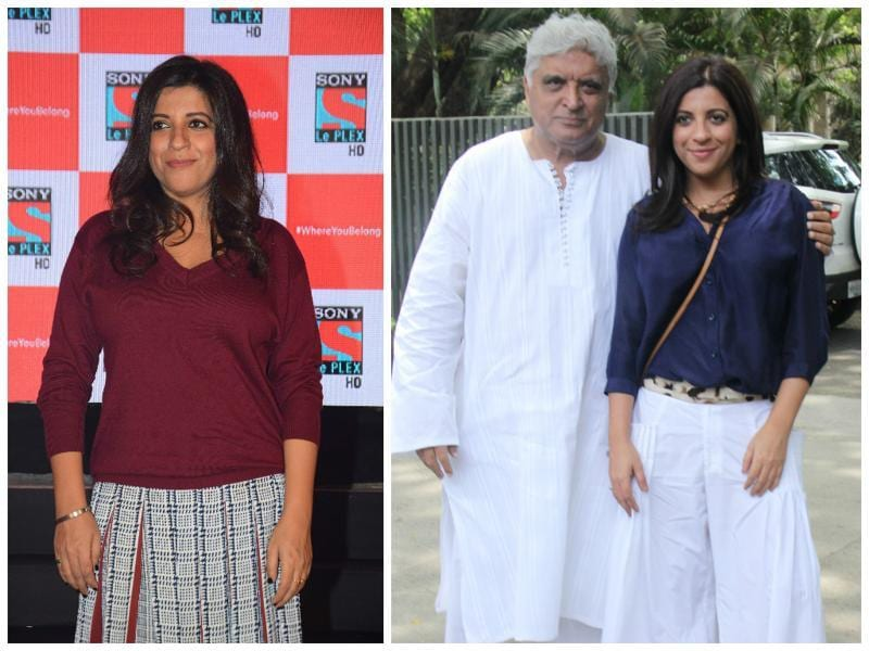 Lyricist Javed Akhtar's daughter Zoya became one of the first female directors to make a name for herself in the commercial cinema business. Unlike her father, she chose to direct.