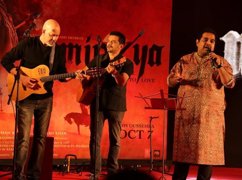 Shankar-Ehsaan-Loy have composed the music for Mirzya. (IANS Photo)