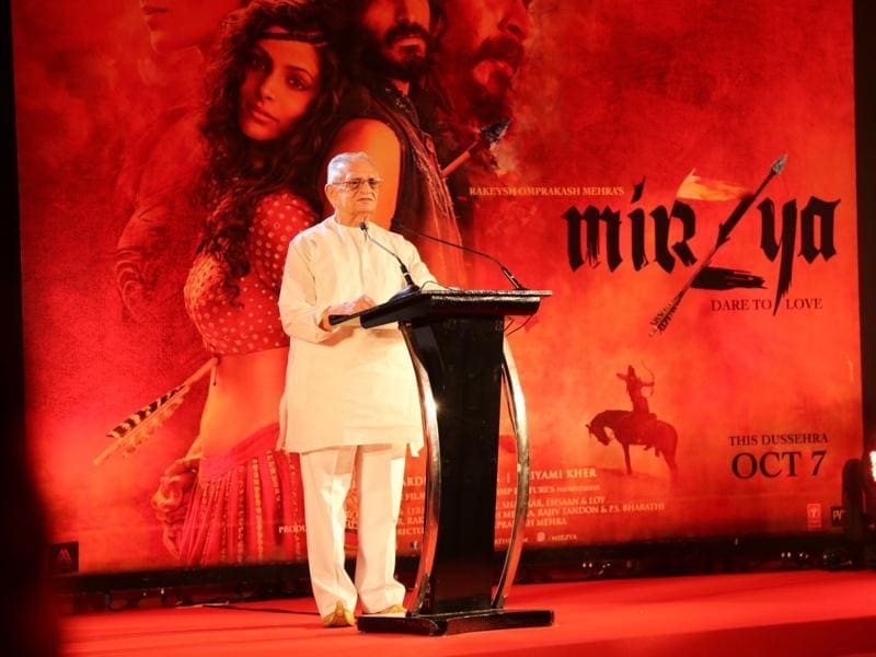 Gulzar is returning to screenwriting after 17 years with Mirzya. (IANS Photo)