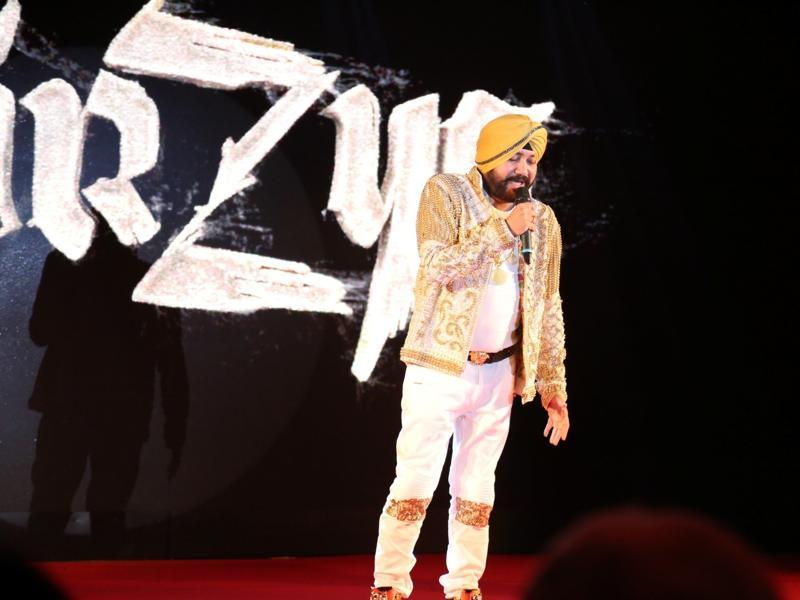 Daler Mehndi has done the playback for Mirzya title track. The song has been praised by many on the social media. (IANS Photo)