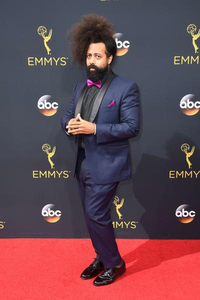 LOS ANGELES, CA - SEPTEMBER 18: Musician Reggie Watts attends the 68th Annual Primetime Emmy Awards at Microsoft Theater on September 18, 2016 in Los Angeles, California. Frazer Harrison/Getty Images/AFP == FOR NEWSPAPERS, INTERNET, TELCOS & TELEVISION USE ONLY == (AFP)