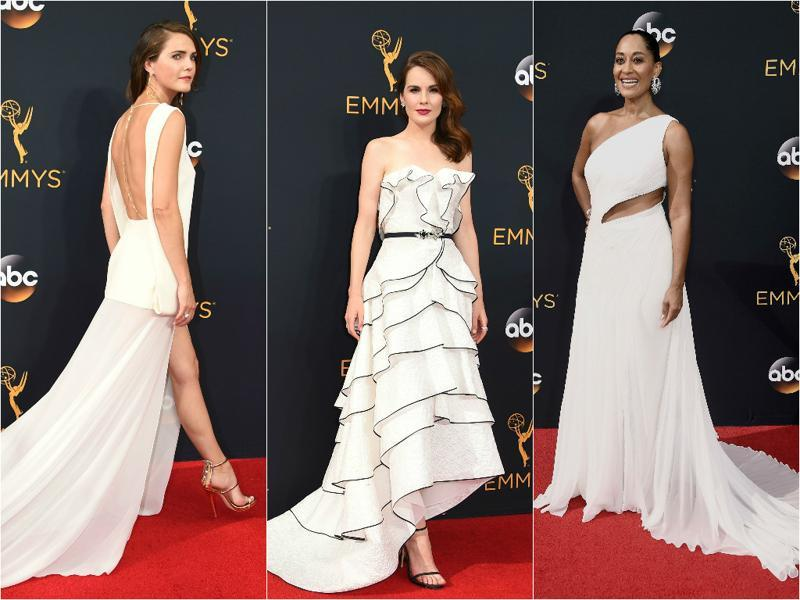 Spotless white: There is not much scope to go wrong when you decide to wear an elegant white  dress. (Agencies)