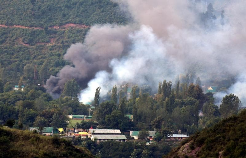 Heavily armed militants attacked a strategically important military base in north Kashmir's Uri on Sunday morning and killed 17 soldiers, the worst single strike on the army in 26 years. (PTI Photo)