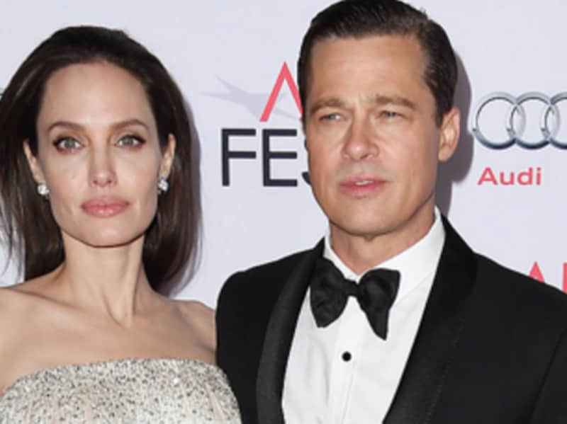 "2016: Rumours of their alleged split start surfacing in the media that said that Angelina's dramatic weight loss is a contentious issue between the couple; the 5' 7"" actor weighs about 40 kg. Angelina files for divorce on Monday, September 19, 2016, citing irreconciliable differences."