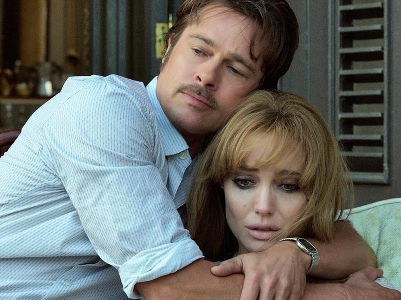 Their second film together, By The Sea, hits theatres in 2015. Angelina, who also directed the film about a couple teetering on the edge, revealed that making the movie was testing the strength of their relationship. (AP)