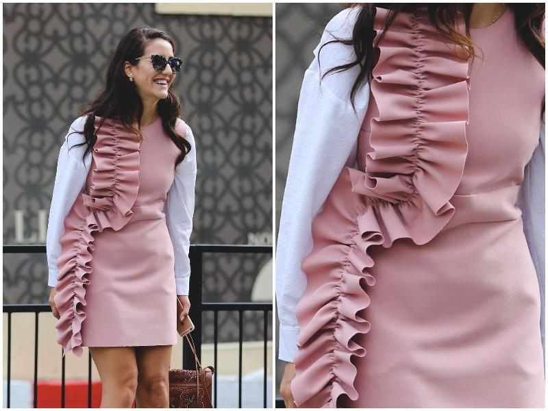 Ruffles and Tumblr pink? Yes, please. (Instagram)
