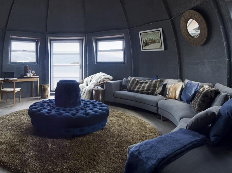 To mark their 10th year of operating in one of the most remote destinations on earth, the White Desert hotel recently underwent a makeover in a bid to bring luxury to the South Pole.  (AFP)