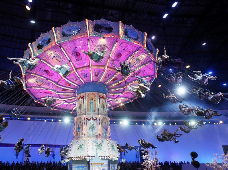 "Welcome to our slide show where we recap the seemingly random happenings at Philipp Plein's show on Wednesday. For starters, it's called ""Alice in Ghettoland."" Enjoy!"