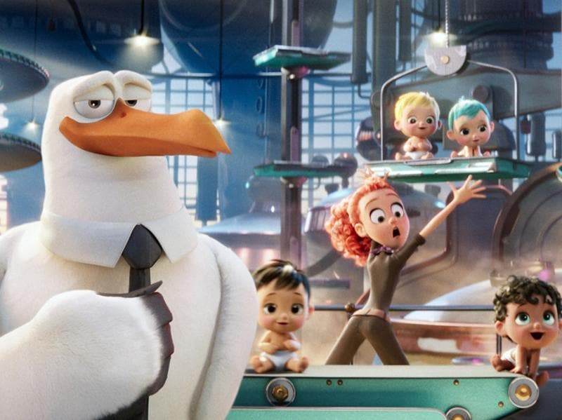 If animation is your thing then Storks can be your film. This one is getting mixed reviews though. (YouTube)