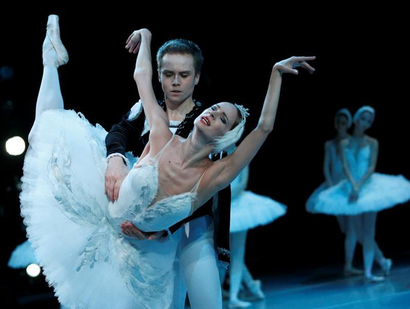 Swan Lake ballet was first performed by the Bolshoi Ballet at the Bolshoi Theatre in Moscow in early 1877.  (Reuters)