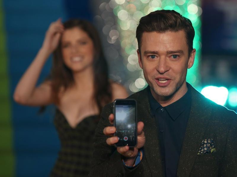 Justin Timberlake also provided an original song for the film, titled Can't Stop This Feeling. (AFP)