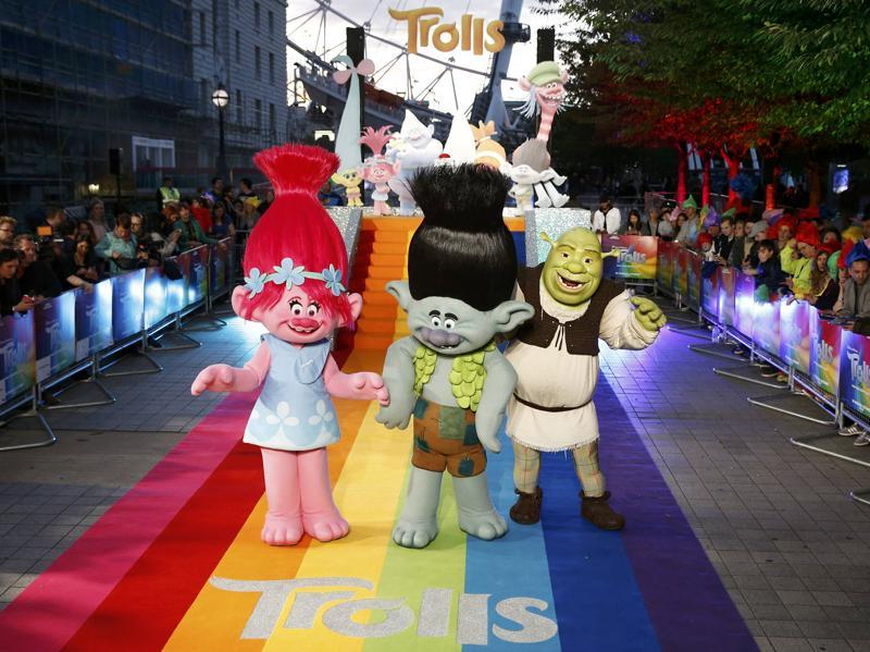 Trolls is the 33rd animated feature film by Dreamworks Animation, who have produced hits like the Shrek, How to Train Your Dragon and Kung Fu Panda series. (REUTERS)