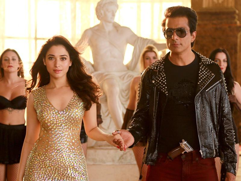 A simple man's life gets complicated when he finds out that his new wife is possessed. Releasing in 3 languages this week, Sonu Sood-starrer Tutak Tutak Tutiiya is directed by Vijay.