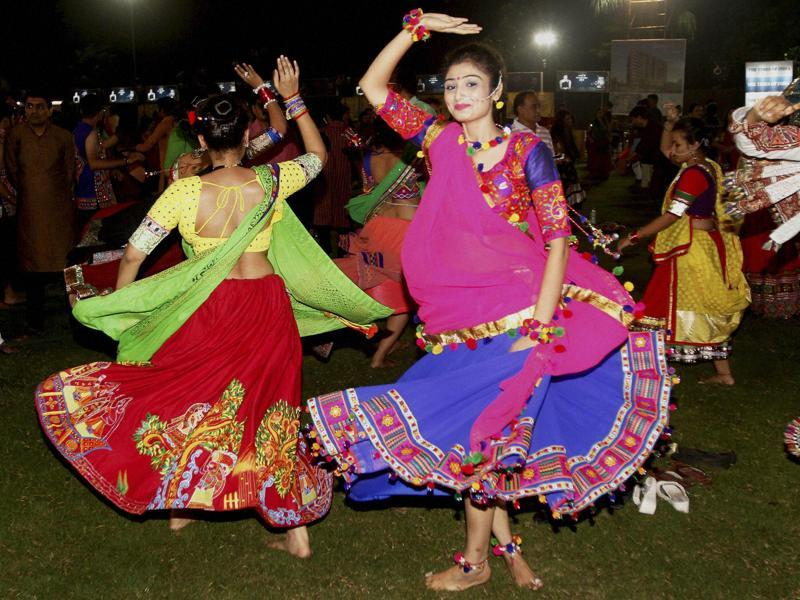 The festive fervour in Gujarat and the rest of north India is at its peak as Navratri inches towards an end this year.  (PTI)