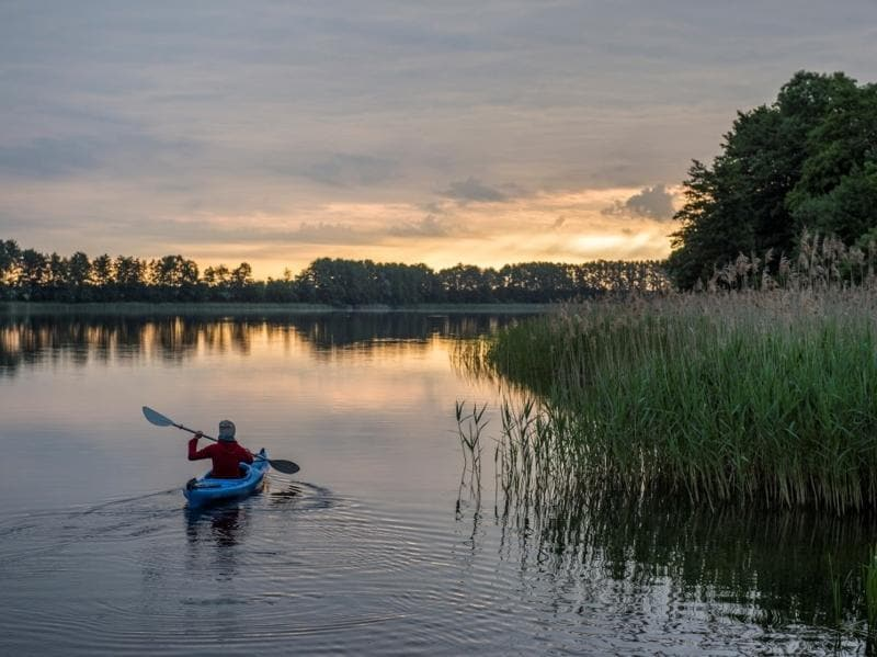 Uckermark, Germany: This tourism region of eastern Germany is known for its eco tourism thrust. (AFP)