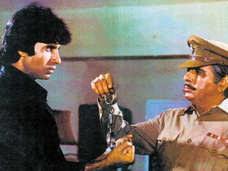 Shakti (1982) was a tug of war between two angry men.
