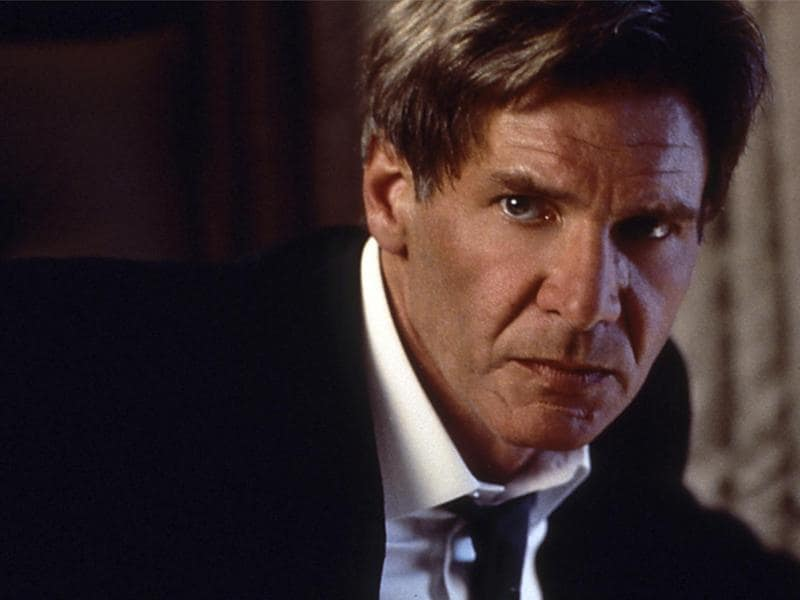 Harrison Ford's butt-kicking President James Marshall in Air Force One took matters into his own hands.