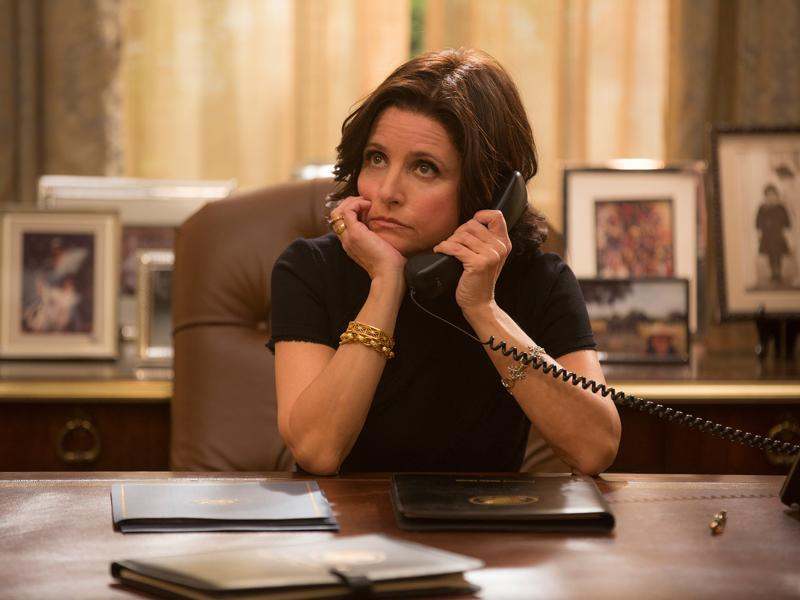 While we may have to wait a year to get the first female American President, Julia Louis-Dreyfus plays the former Veep and current POTUS Selina Meyer very successfully on TV.