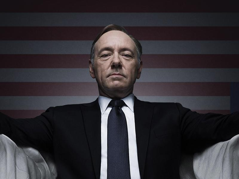 And last but certainly not the least is the menacing Kevin Spacey as the now-legendary President Francis J Underwood from the popular TV series House of Cards.