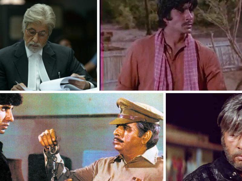 Megastar Amitabh Bachchan has played all types of roles in his acting career spanning over four decades. Here we list some of his milestone works over the years.