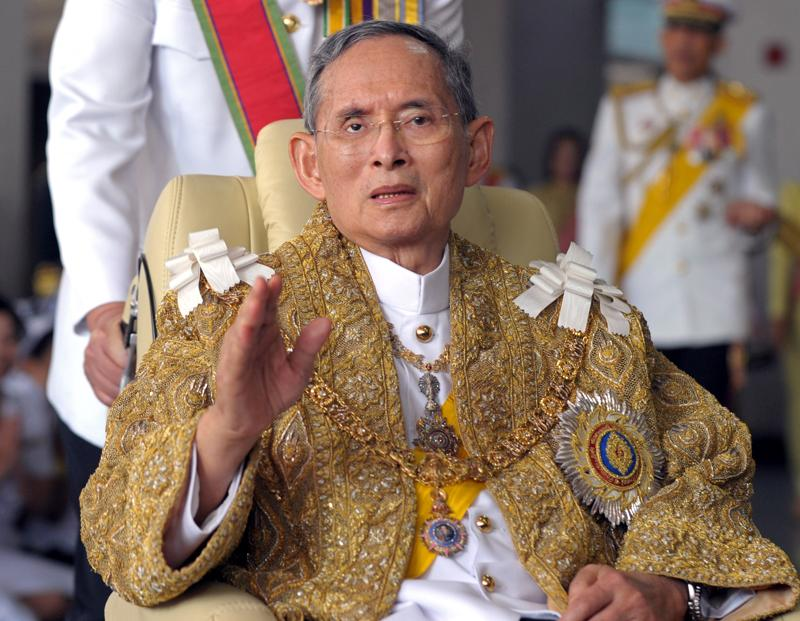 Thailand's King Bhumibol Adulyadej died after a long illness on Thursday, ending a remarkable seven-decade reign and leaving a divided people bereft of a towering and rare figure of unity.  (AFP)