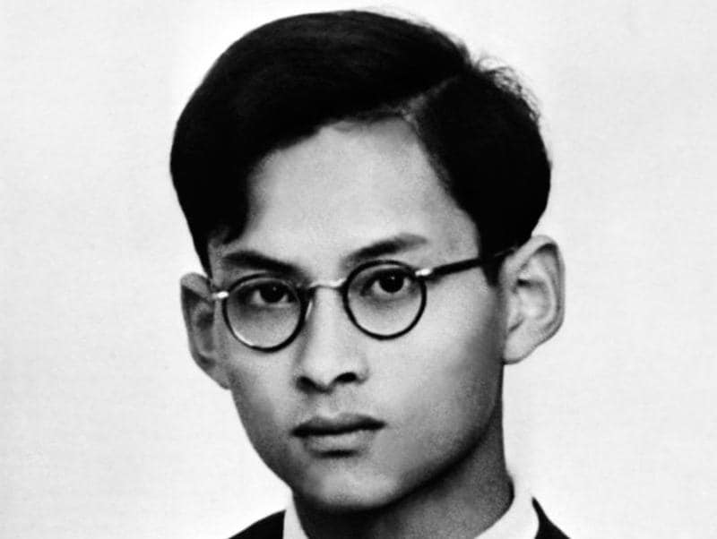 An undated file photo of Thai King Bhumibol Adulyadej who died on October 13, 2016. King Bhumibol spent much of his early life abroad, first in the United States and then in Switzerland. (AFP)
