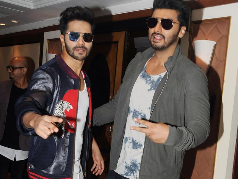 Varun and Arjun are from film families, and are friends since their childhood. (AFP Photo)