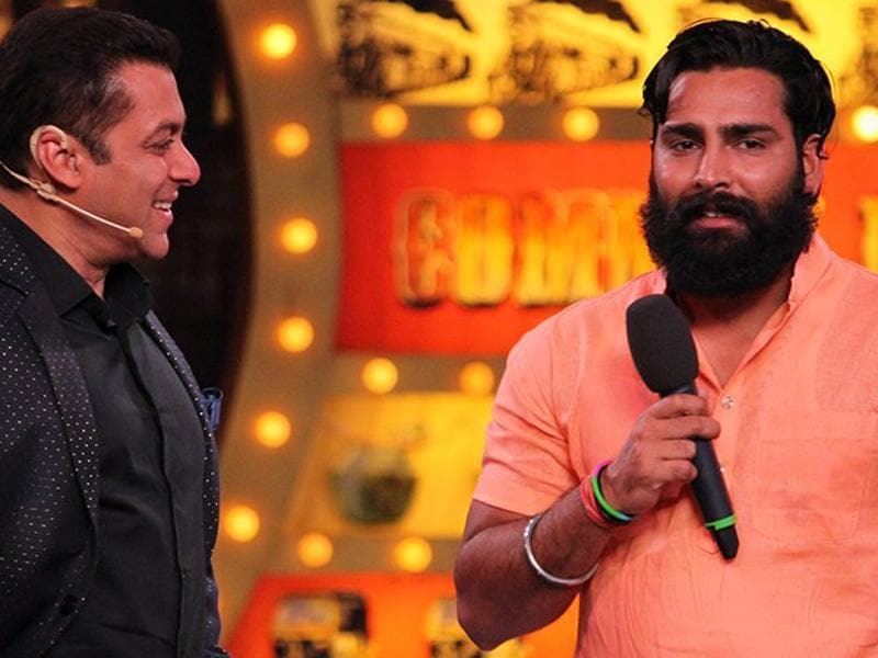 Manveer Gurjar hails from Noida and loves playing Kabbadi.