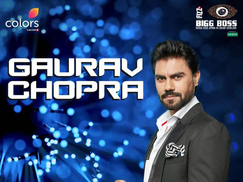 TV actor Gaurav Chopra, best known for Uttaran, is also one of the contestants.