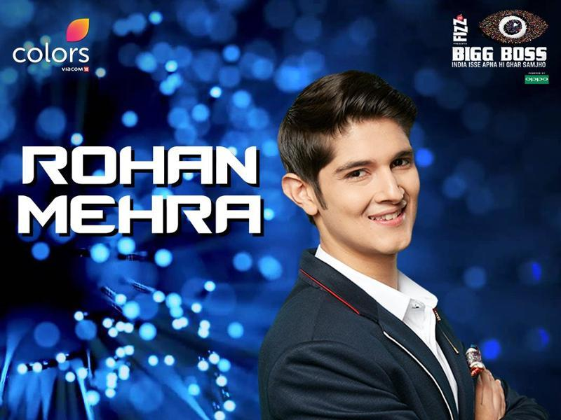 Yeh Rishta Kya Kehlata Hai fame Rohan Mehra is a contestant on Bigg Boss 10.