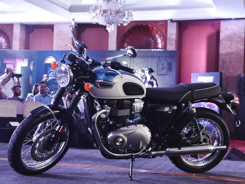 New Triumph Bonneville T100 Launched In India Autosbike Photos