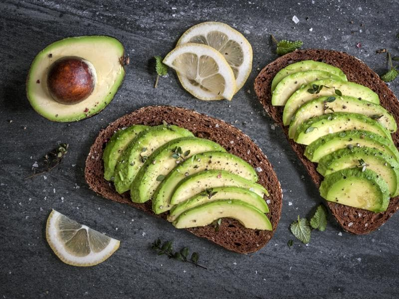 Avocado: Packed with a lot of nutrients and heart-protective compounds, avocados have soluble fibre, vitamin E, folate, and potassium. One could opt for them in salads instead of mayonnaise. They also make a good filling for a sandwich. (Shutterstock)