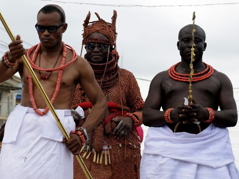 By the 15th century, the Edo people had moved from protected settlements to living in a city-state. Later, the twelfth Oba, Oba Ewuare the Great (1440-1473), would expand the city-state to an empire. (AFP)