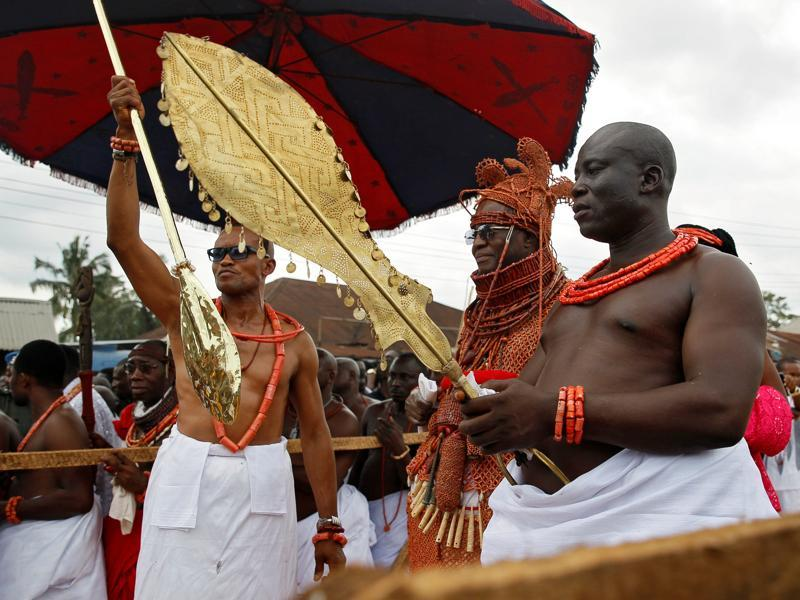 The title of Oba was created by Oba Eweka I, Benin Empire's first Oba (approx. between 1180 and 1300). (REUTERS)
