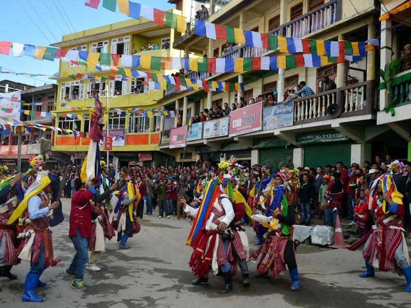 The festival has been designed to promote tourism and showcase the culture and traditions of the district in particular, and the state in general. (AFP)