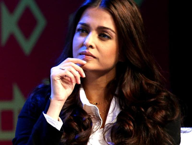 Aishwarya Rai Bachchan plays a poetess Saba in the film. (AFP Photo)
