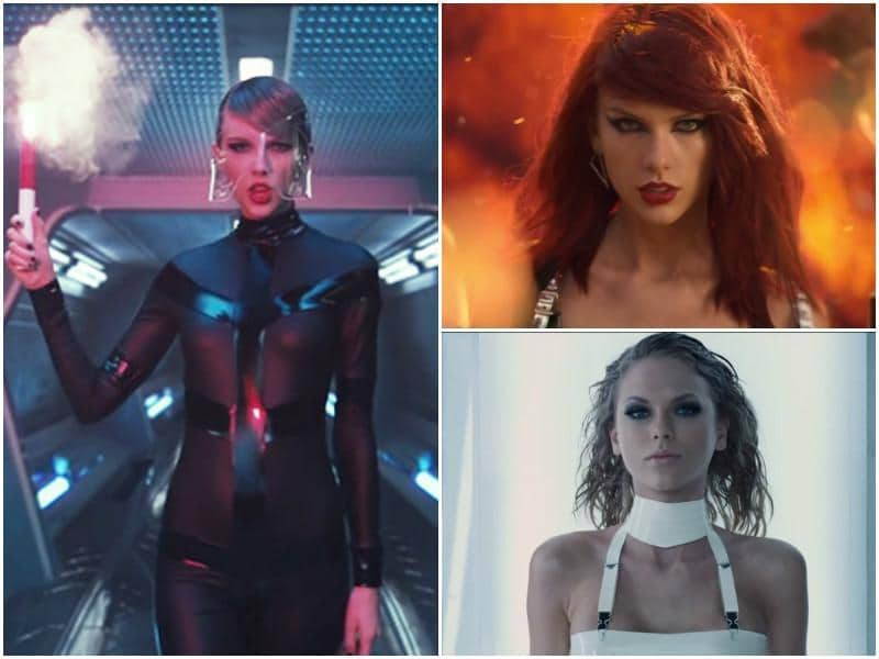 Here's the star in Bad Blood, her weirdest video to date. The style maybe a bit too much for us right now but we are sure it will be a huge rage in years to come.