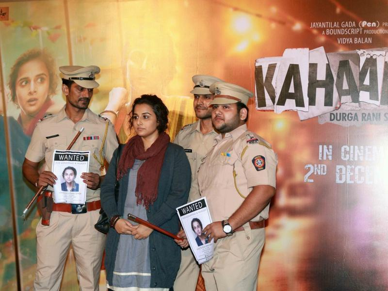 Vidya Balan is playing a mysterious woman Durga Rani Singh in Kahaani 2. (IANS Photo)