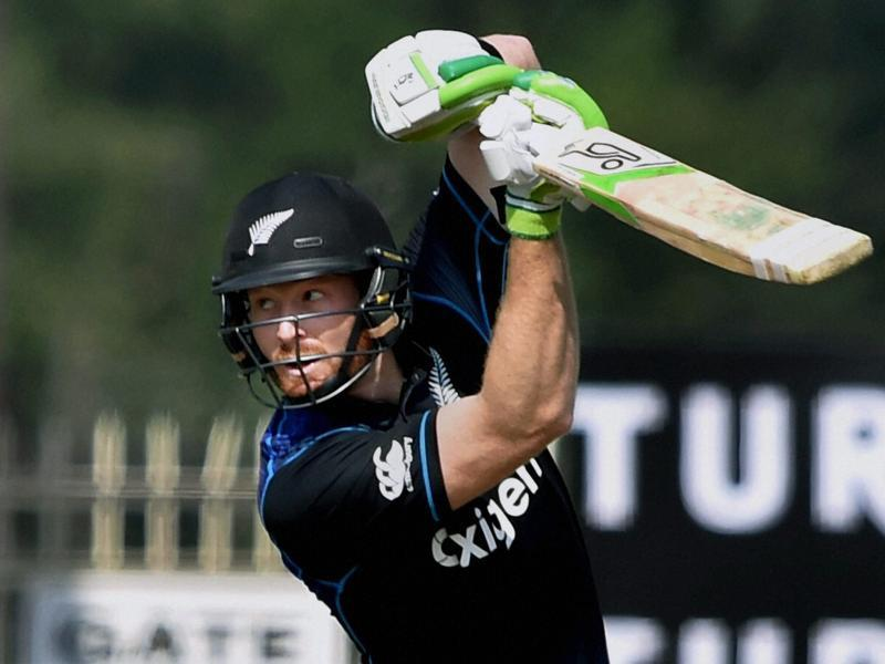 Martin Guptill's 102-ball 72 set the foundation for New Zealand's win and earned him the man of the match award. (PTI)