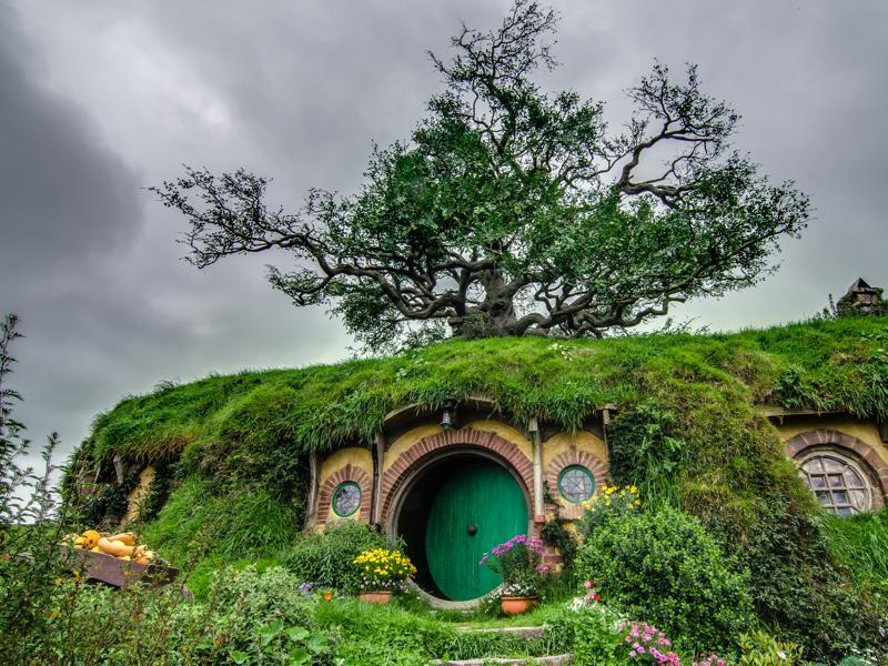 The Hobbiton set in New Zealand is a popular tourist destination, contributing to the New Zealand  tourism industry's growth.