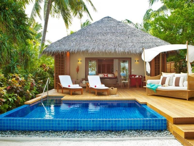 Yet another resort in Maldives makes it to the list at the 8th spot -- Baros Maldives, Baros Island. The beach villas of this resort regularly make it to magazine covers. (AFP)