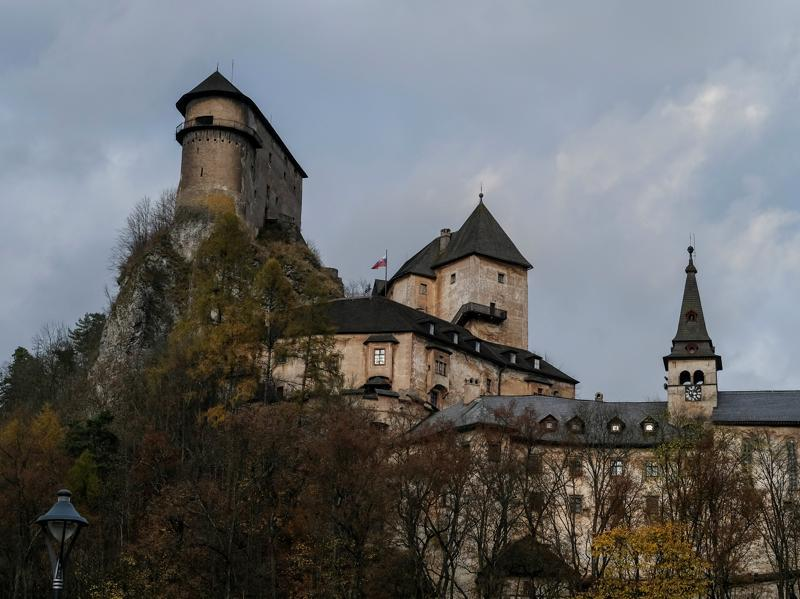 The castle dates back to 1297 when the region was part of the Kingdom of Hungary. (REUTERS)