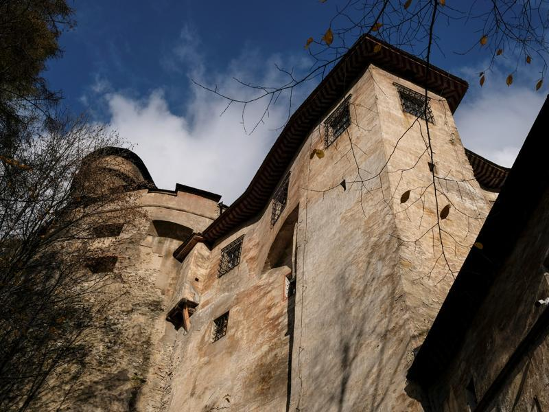 Many scenes of the 1922 film Nosferatu were shot here with the castle representing Count Orlok's Transylvanian castle, a character based on Count Dracula. (REUTERS)
