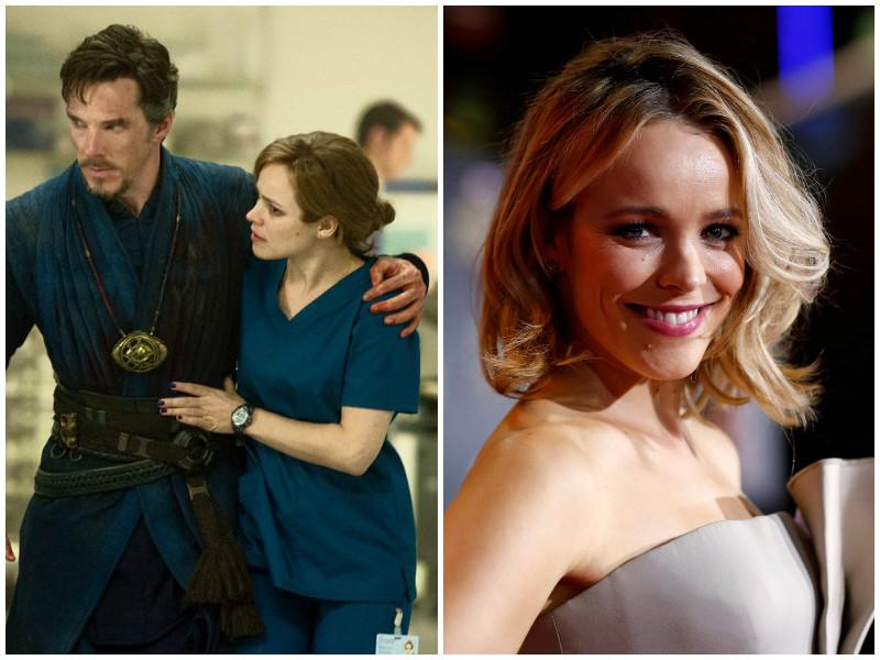 Rachel Mc Adams plays Dr Christine Palmer, Dr Strange's colleague and the surgeon who operates on him after his gruesome accident.