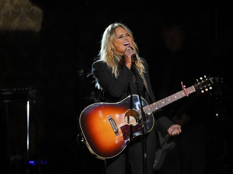 Singer Miranda Lambert performs Vice during the 50th Annual CMAs. (REUTERS)